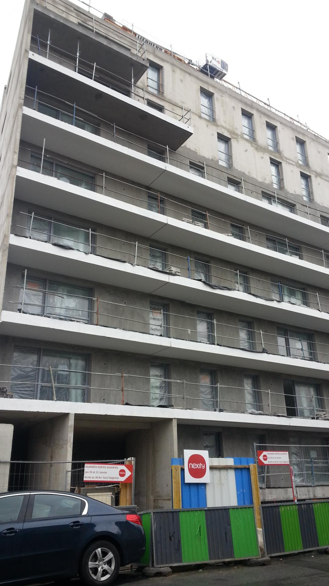 2016_01_31  Nouvelle couche sur la façade