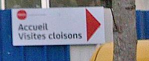 Visite cloisons